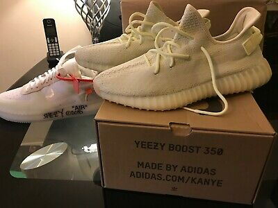 Adidas Yeezy Boost 350 V2 Butter F36980 UK 11 US 11.5 EU 46 Brand NEW IN BOX