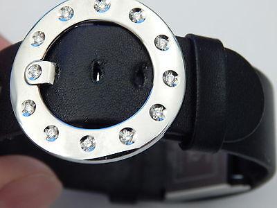 BAUME MERCIER 12 DIAMOND STAINLESS STEEL LADIES VICE VERSA DRESS WATCH