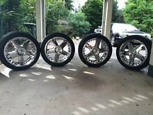 20 inch chrome rims.  Wheels & tyres Make an offer Need to buy a pram Yorkeys Knob Cairns City Preview
