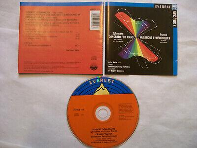 SCHUMANN/FRANCK/Peter Katin: Concerto Op 54/Variations Symphoniques – 2008 UK CD