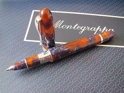 Montegrappa Liberty Lapis Mini celluloid ballpoint pen MIB