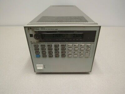 Hp Agilent 6051a Dc Electronic Load Mainframe
