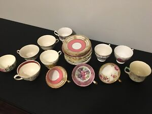 Vintage China Tea Cups with Saucer