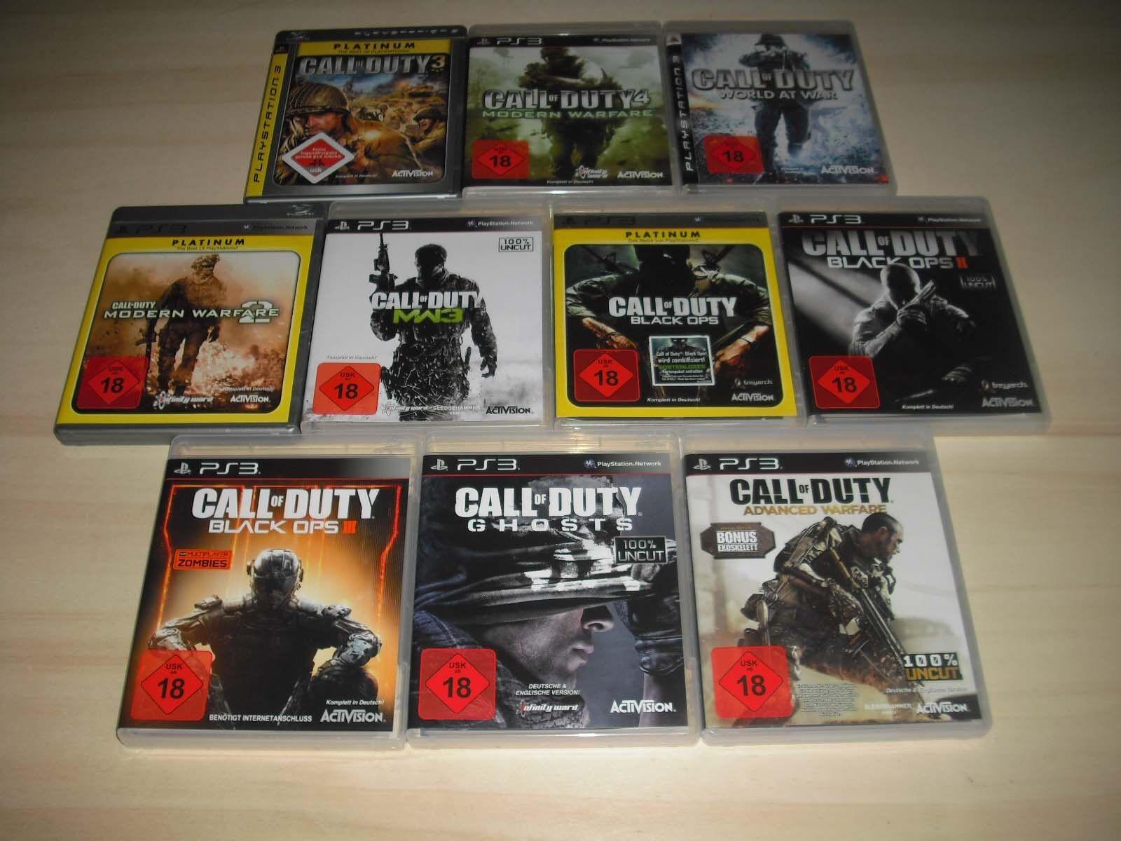 PS3 - 1 x Call of Duty Spiel nach Wahl - Playstation 3 **