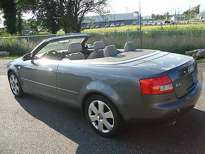 2004 audi a4 convertible ebay. Black Bedroom Furniture Sets. Home Design Ideas