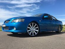 2003 Ford Falcon Ba Xr8 Ute Manual Aberglasslyn Maitland Area Preview