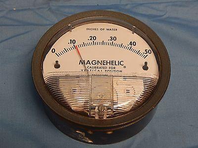 Dwyer 2000-0c Magnehelic 0-0.5in-h2o 4 In 18 Pressure Gauge