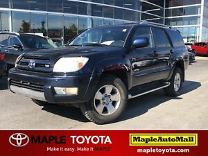 2004 Toyota 4Runner LIMITED -  V8 AWD LEATHER MOONROOF