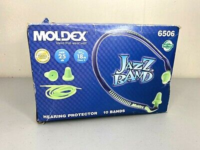 Moldex 6506 Jazz Band 25db Ear Plug Hearing Protectors Case Of 10