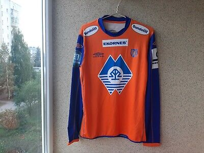 Aalesunds FK Home football shirt 2007/2008 Jersey Size 2XL Soccer Umbro Norway  image