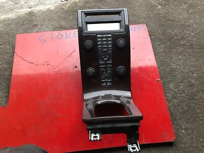 GENUINE VOLVO S40 2004-12 CENTRE CONSOLE CLIMATE CONTROL PANEL WITH DISPLAY#1112