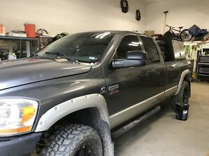 2007 3500 longbox cummins welding rig