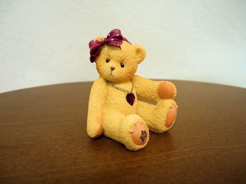 Cherished Teddies Little Sparkles January Bear 2003 NIB
