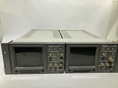 Tektronix 1720 Vectorscope And Textronix 1730 Waveform Monitors
