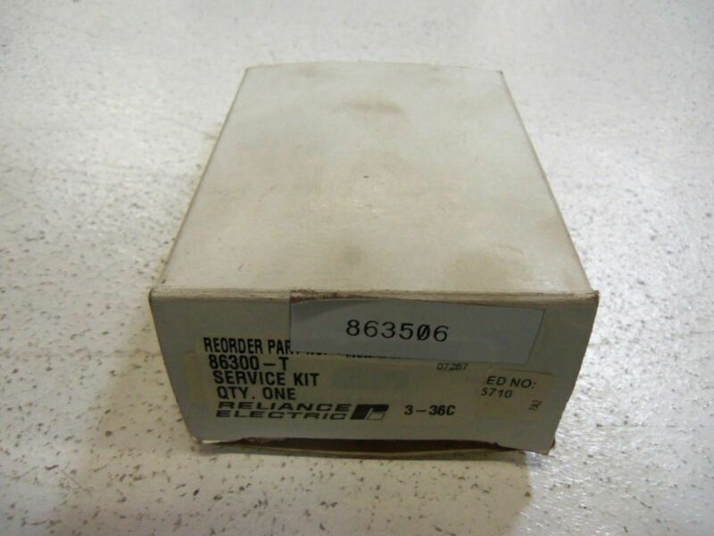 RELIANCE ELECTRIC 86300-T TIMING RELAY  *NEW IN BOX*