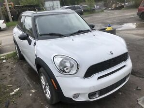 2014 mini cooper s countryman all4 6speed low miles safetied