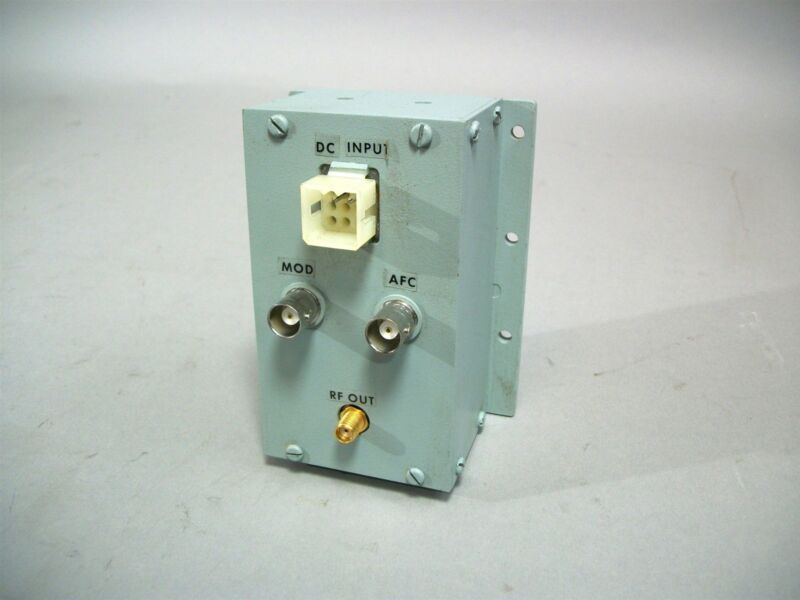 Frequency West Inc. Microwave Oscillator GSC-540LMF-02