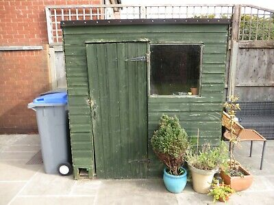 GARDEN SHED 6 X 6, for parts only