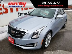 2017 Cadillac ATS 3.6L Premium Luxury AWD, NAVIGATION, SUNROOF