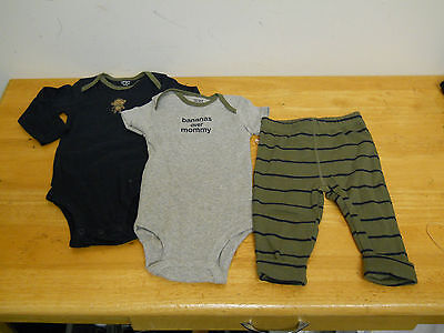 Carters New Baby Boys 3 Piece Outfit 6 Months NWT