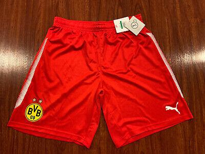 2017-18 Puma Men's Borussia Dortmund Striker Soccer Jersey Shorts Large L image