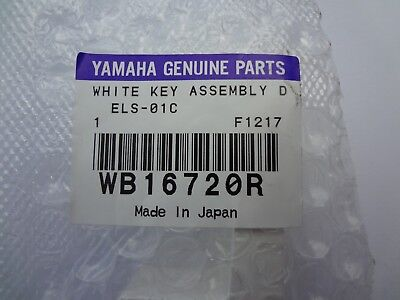 NEW Replacement Piano D Yamaha Key  Tyros2 Motif XF6 XF7 XS6 XS7 WB16720R for sale  Shipping to India