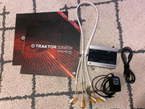 Native Instruments TRAKTOR Scratch A6 6 Channel Digital Vinyl System
