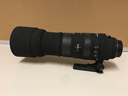 Sigma DG 150-500mm