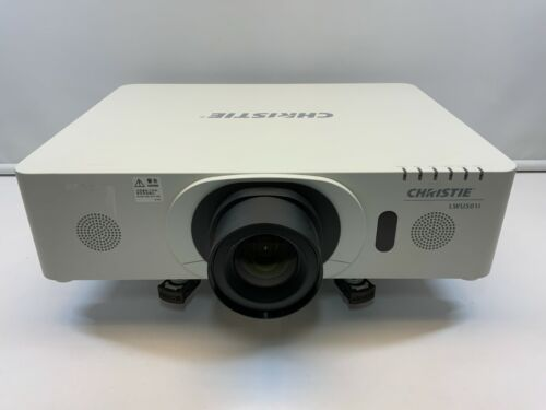 Christie LWU501i Projector with Hitachi ML-703 Medium Throw Lens 3697 Hours