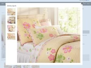 Pottery Barn Girls Bedding