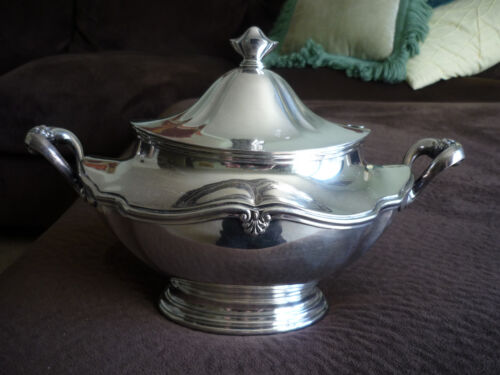 LOVELY REED & BARTON SILVER SOLDERED TUREEN/ EARLY 1900
