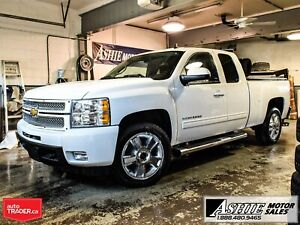 2013 Chevrolet Silverado 1500 LTZ LEATHER/HEATED/COOLED! NAV! 4x
