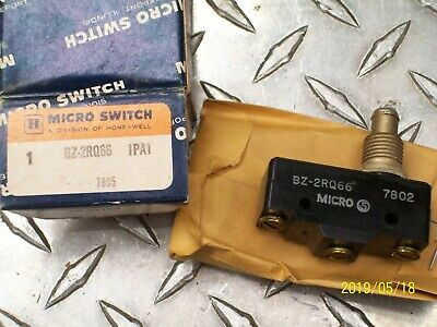 Honeywell Micro Switch Snap Action Limit Switch Bz-2rq66