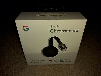 Google Chromecast 2 Digital HD Media Streamer 2nd Generation - Black (NC2-6A5)