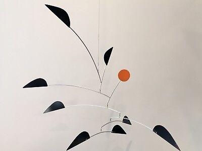 """Hanging Mobile Art Sculpture - YARDBIRDS - 30""""w x 26""""h   360ModernMobiles (Yardbirds Sculpture)"""