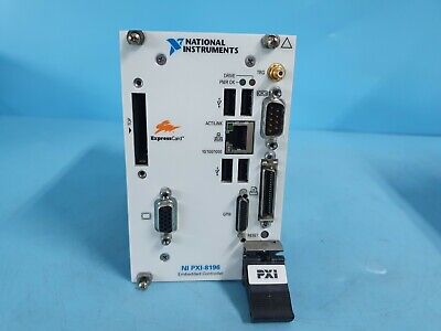National Ni Pxi-8196 Pxi Embedded Controller Tested Working