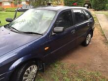 2001 Ford LXI Laser Hatchback 4cyl Auto South Penrith Penrith Area Preview