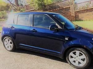 2008 Suzuki Swift S Hatchback Nocturne Blue Belrose Warringah Area Preview