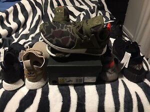 Adidas NMD  Green Camouflage 9US DS. Wanniassa Tuggeranong Preview