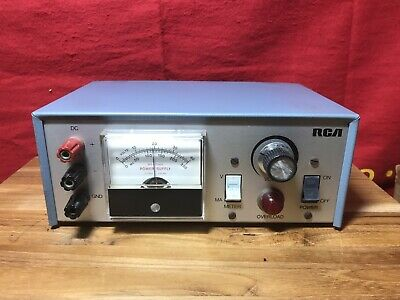 Vintage Rca Wp-704a Dc Voltage Regulated Power Supply 0-40v 250ma Working