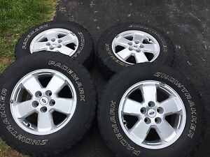 "16"" Ford Escape/Mazda Tribute Rims with TPMS"