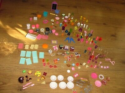 Barbie bundle kitchen accessories and other