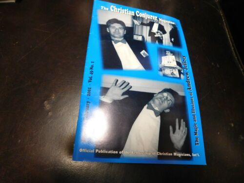 The Christian Conjurer Magic Magazine 2001 Jan Feb Andrew Jeffrey