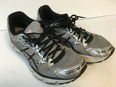 Aasics Men's Gel-Excite 3 Silver/Black/Red Running Shoes Size 9  A4