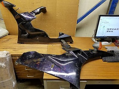 S OEM 2006 2007 Yamaha YZFR6 YZF R6 Left Right Side Mid Fairing Cowl Panel Cover