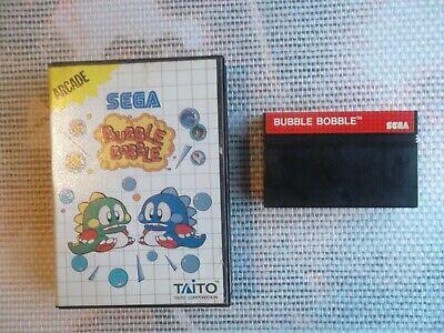 Jeu Master system / Ms Game Bubble Bobble + boite PAL authentic* original SEGA