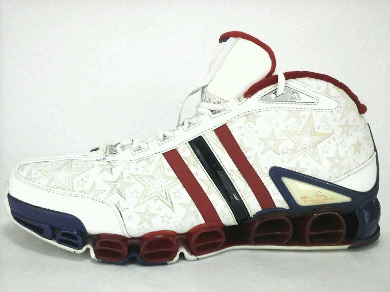 pretty nice 4e882 0c875 RARE 2005 Adidas KEVIN GARNETT 2Malik All Star Game Basketball Shoes US 15  EU 51
