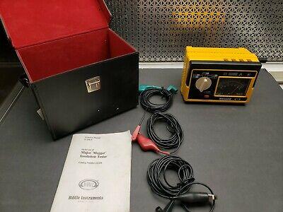 Megger Biddle Instruments Insulation Tester Catalog Number 212159