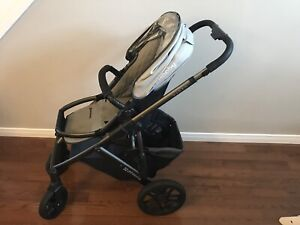 2014 Uppa Baby Stroller, Bassinet, Bassinet Stand and Extras