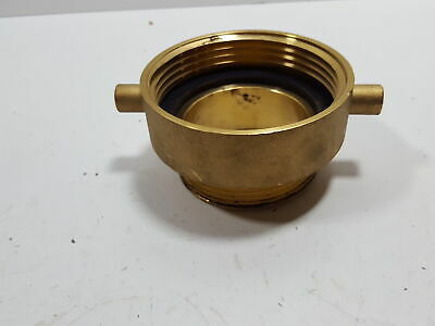 Moon 5358-1521 Brass Brass Rack Nipple 1-1//2 Male NPT x 1-1//2 Male NST